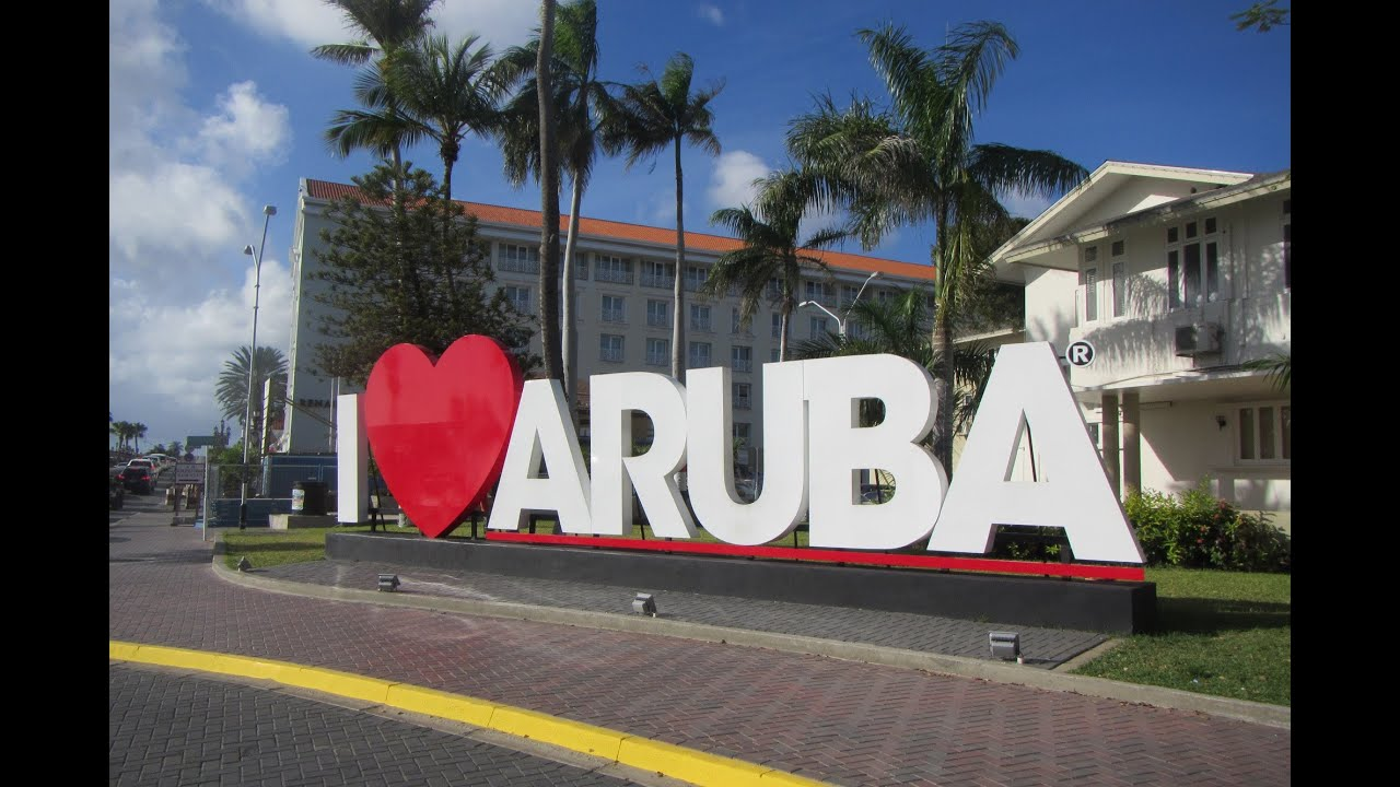 Cruise Stop In Oranjestad Aruba And Eagle Beach Youtube