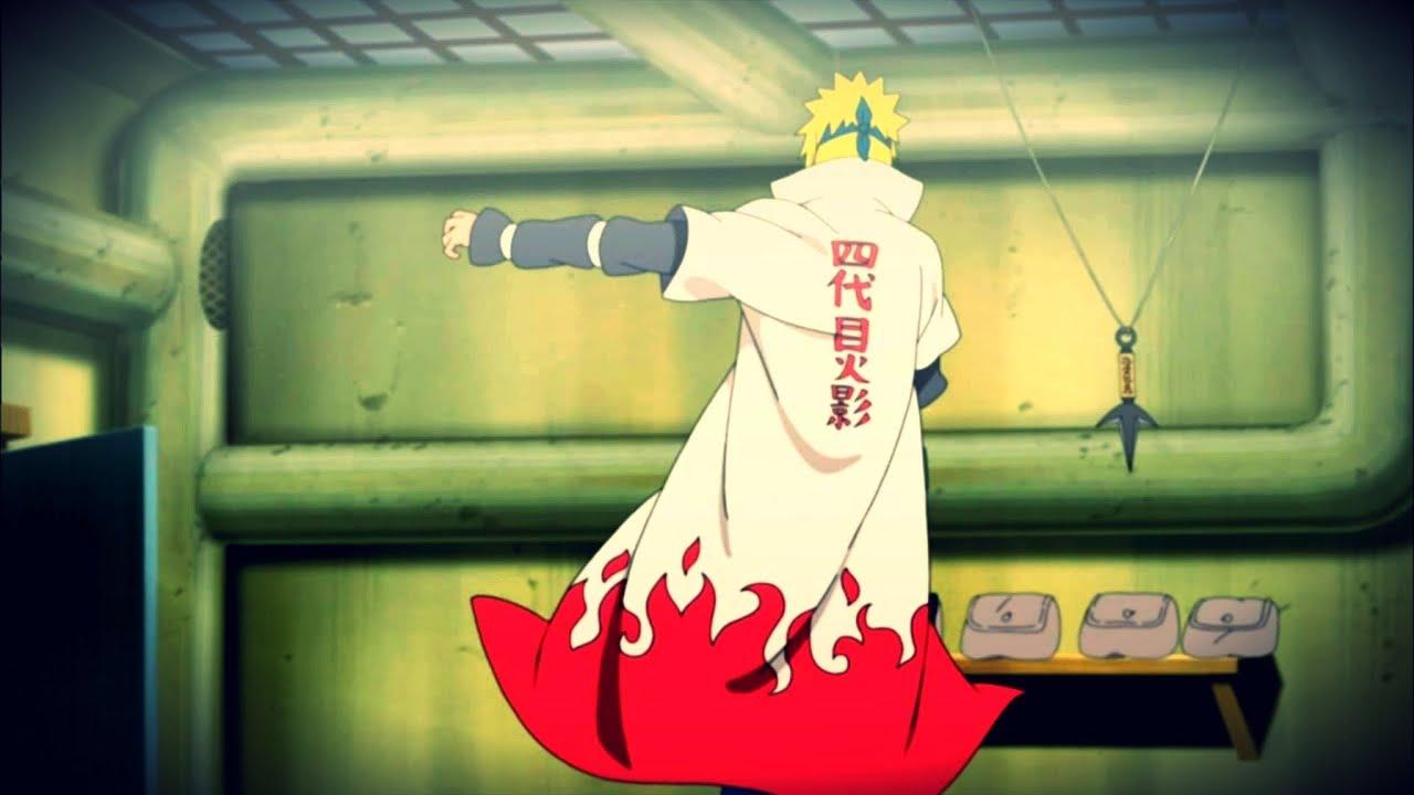 Wallpaper Naruto Hokage 3d Naruto Minato The Yellow Flash Amv Youtube
