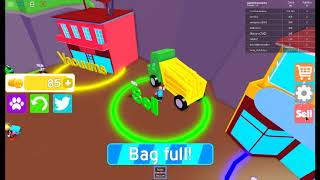 on joue a roblox #vacuum simulator #