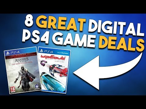 8 GREAT PS4 Digital Games Deals AVAILABLE NOW! (PlayStation Store FLASH SALE)