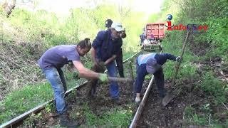 Tren de marfă a deraiat între Moniom şi Reşiţa - Linia este praf