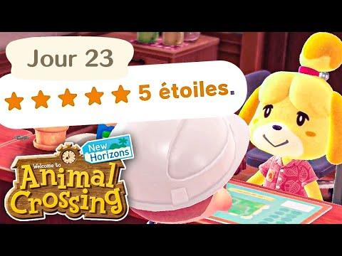 Jour 23 | Les 5 Étoiles⭐ pour mon Île | Animal Crossing : New Horizons