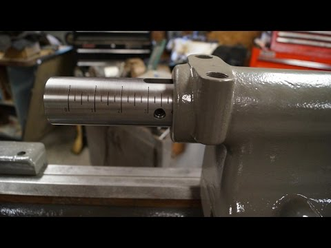 Machining A Tail Stock Quill (Part 4)