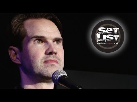 JIMMY CARR: An Adorable Jihad - Set List: Stand-Up Without a Net