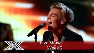 Freddy Parker kicks off Motown Week! | Live Shows Week 2 | The X Factor UK 2016