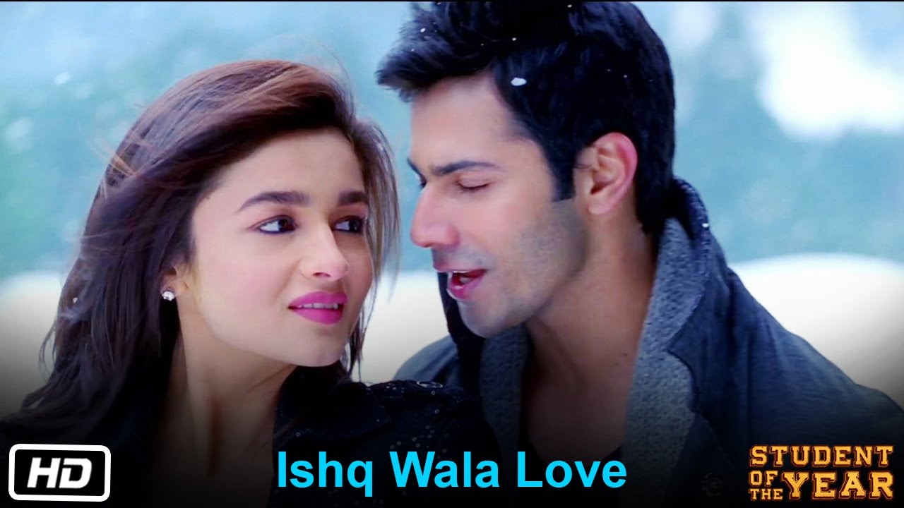 Ishq Wala Love Student Of The Year The Official Song Sidharth