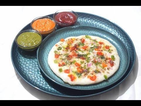 Vegetable Uttapam   Homemade Idli Dosa Batter-Food Connection
