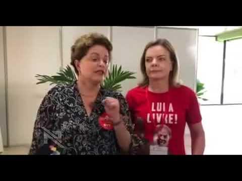 Dilma e Gleisi falam de Lula no Foro de S. Paulo, em Havana