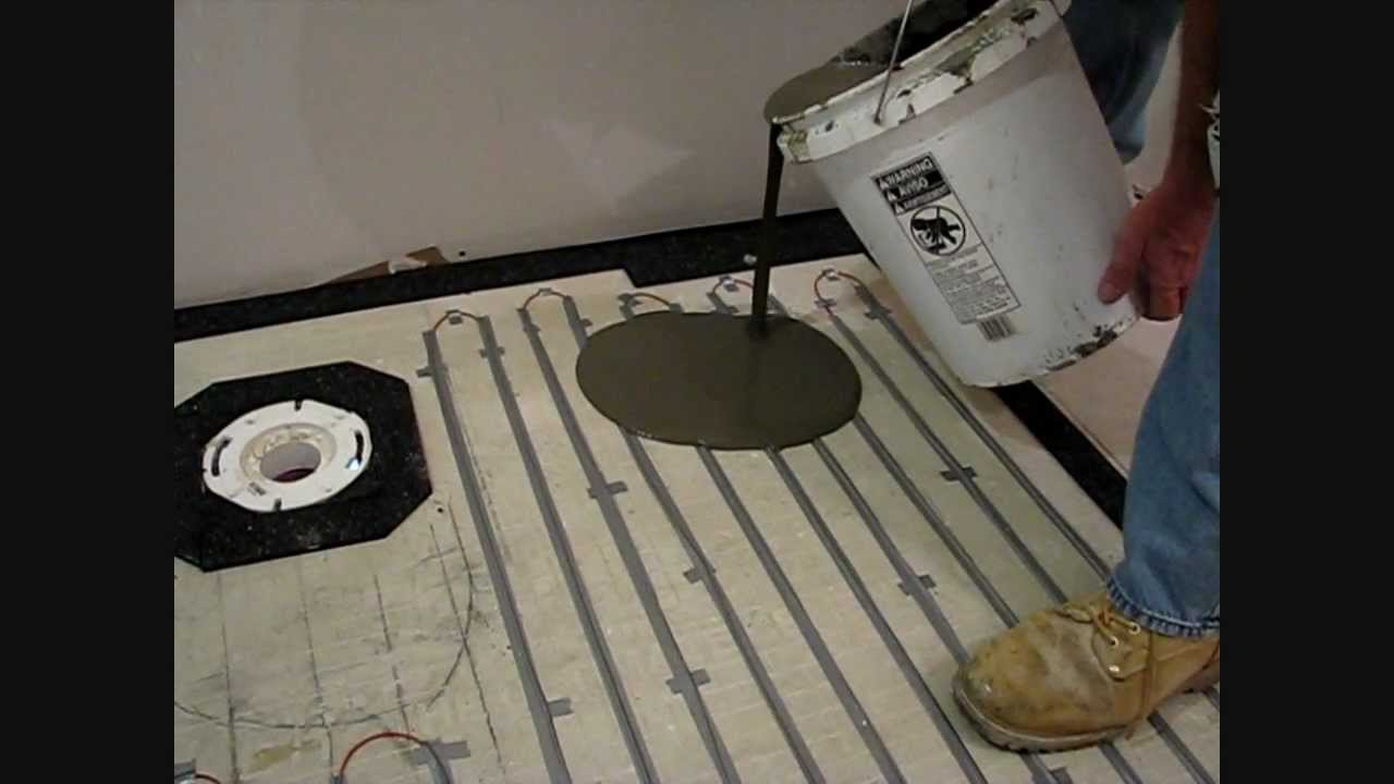 Using edge strip kits to install warmup loose wire electric floor using edge strip kits to install warmup loose wire electric floor warming system youtube dailygadgetfo Image collections