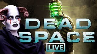 Dead Space final stream | Halloween cosplay!