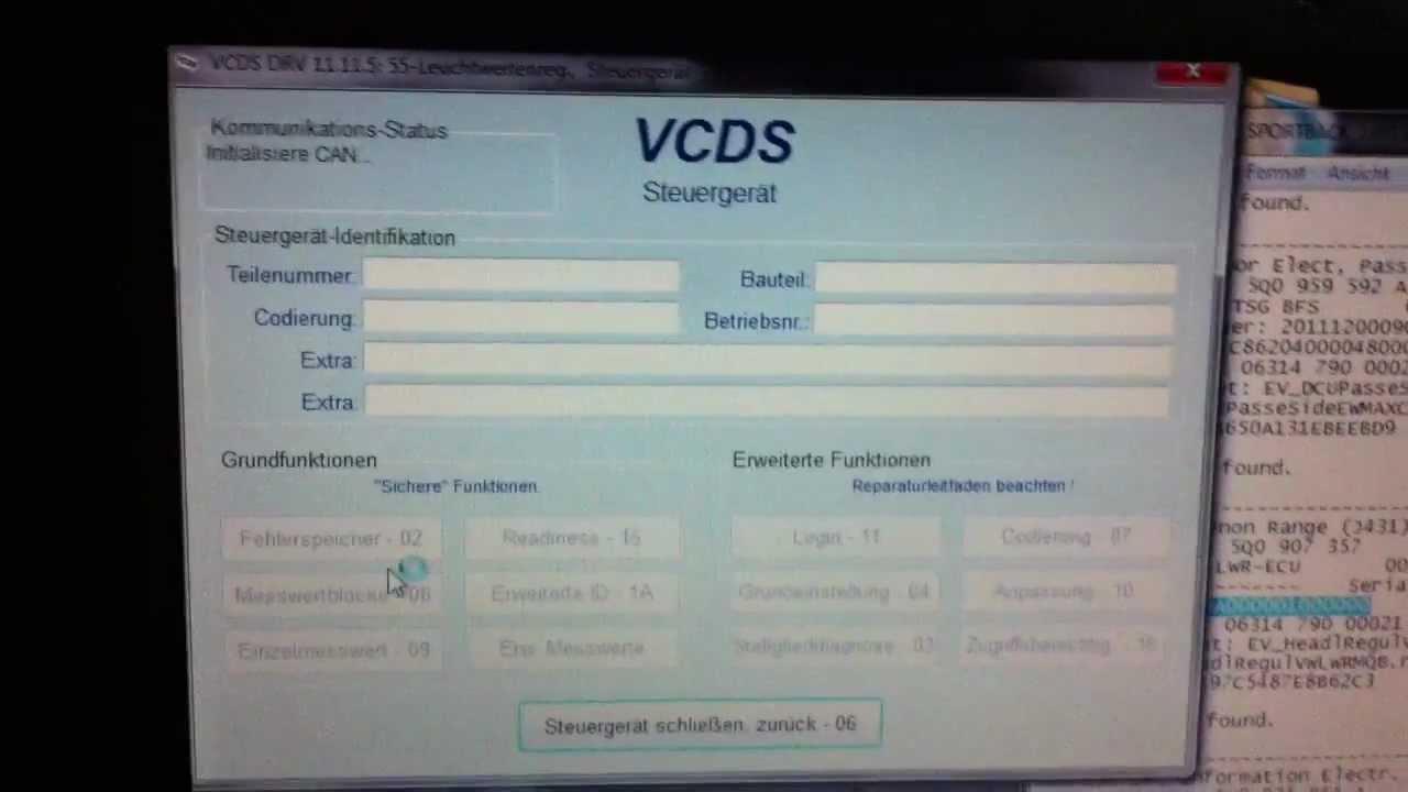 Les modifications par le VAG COM pour l'A3 8V - A3 8V / A3