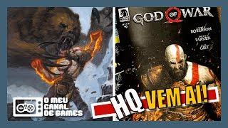 NOVA HQ, EDIÇÃO NÚMERO #0 COMPLETA E NOVO EASTER EGG CONFIRMADO [God of War]