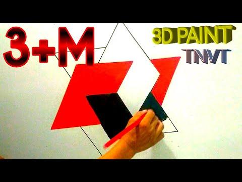 3D PASTING PLATE   INTERIOR DESIGN   TNVT-CHANNEL  MẢNH GHÉP 3D  VẼ SƠN 3D 