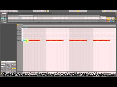 How To Make A Trance Gate Effect Using Ableton Live