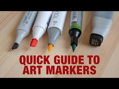 Beginner's Guide to Art Markers