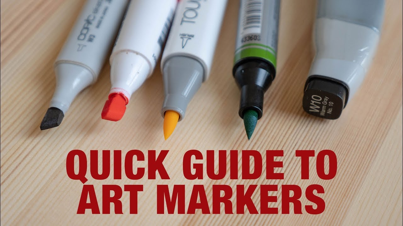 Beginner S Guide To Art Markers