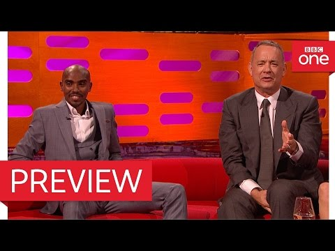 Tom Hanks quotes Forrest Gump for Mo Farah  The Graham Norton  2016  BBC One