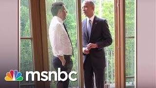 Photo Shows Obama May Not Have Quit Smoking | msnbc