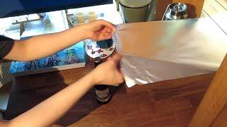 1000 ways to open a beer 378 aluminium foil alufolie