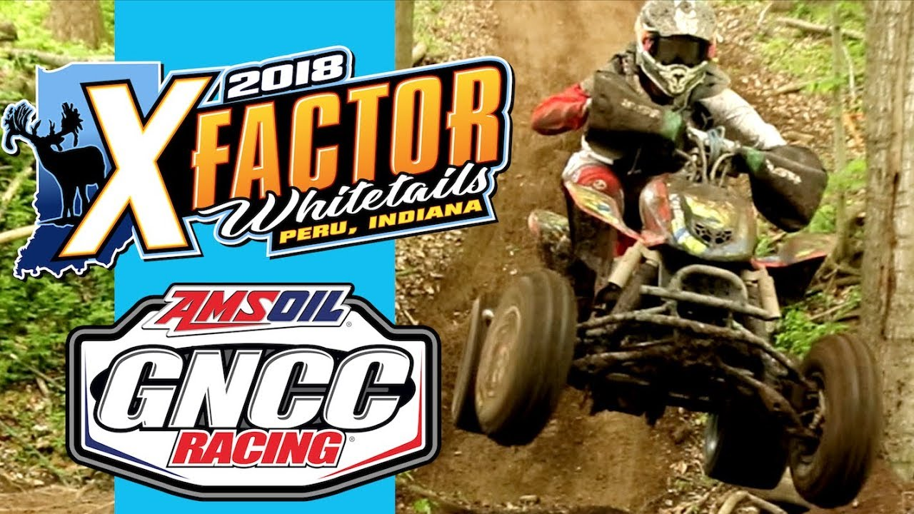 ATV Racing on a world record deer ranch - GNCC X-factor whitetails highlights