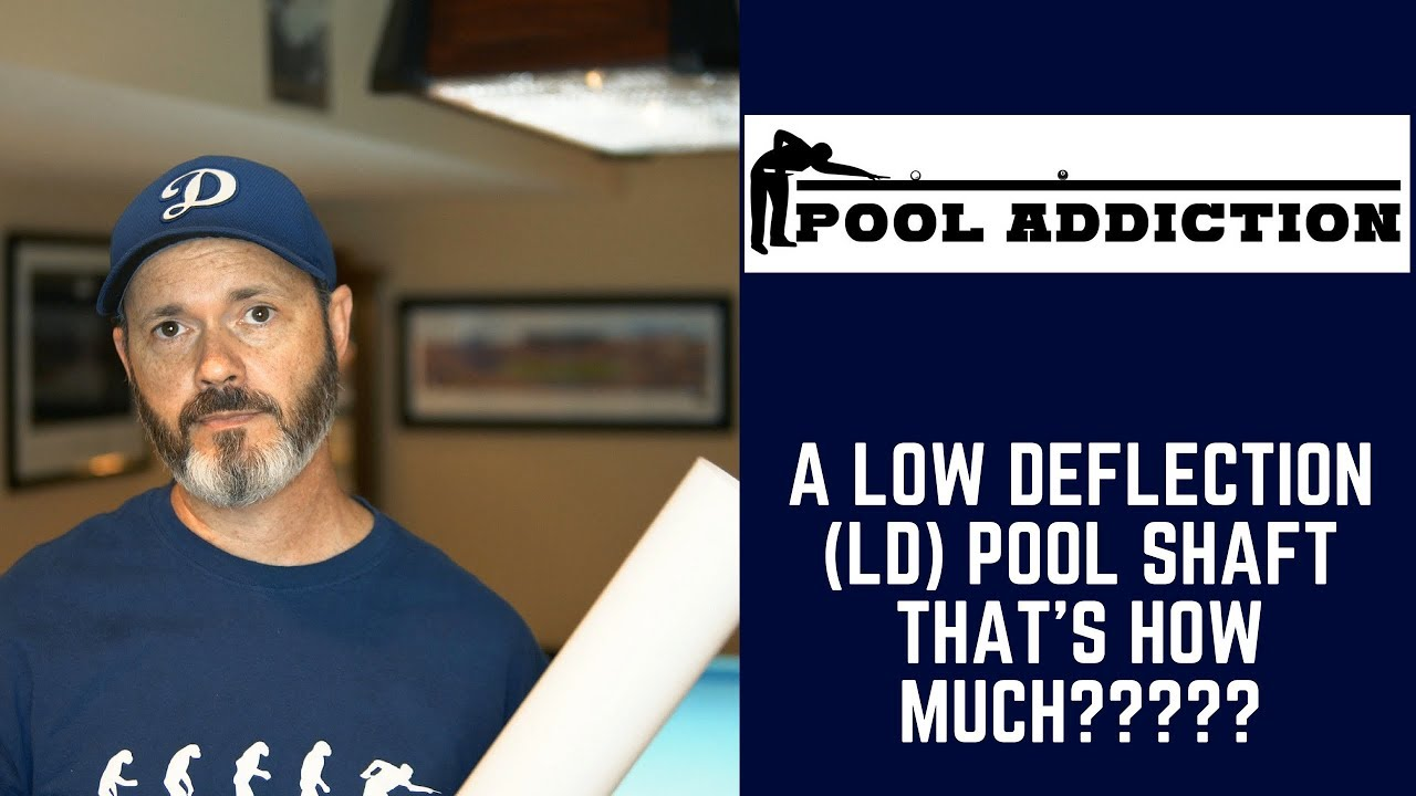 HXT Skinny Low Deflection Pool Cue Shaft REVIEW!!!