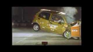 Краш-тест и видео краш-тест Daewoo Matiz (Дэу Матиз) - Автомобильный информационный портал - AutoTurn.ru