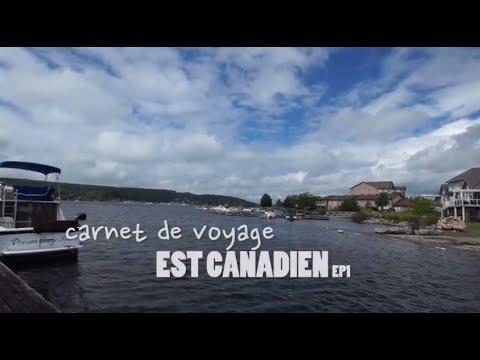 Carnet de voyage - Est canadien #1