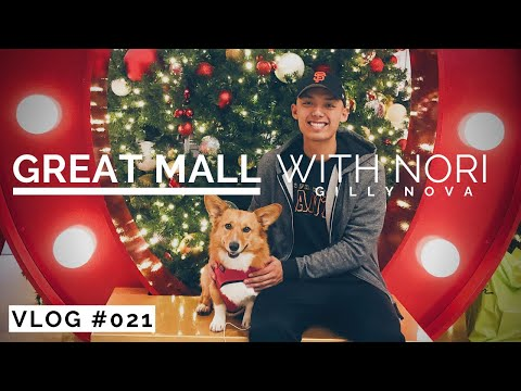 Great Mall in Milpitas w/ Nori (Vlog #019) - Dec 4, 2018