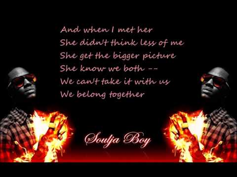 Justin Bieber ft Soulja Boy - Rich Girl (lyrics)