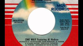 ONE WAY feat. AL HUDSON  Do your thang