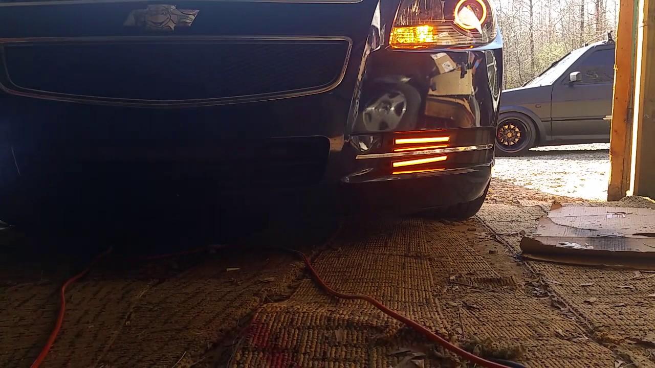 2008-2012 Chevy Malibu Projector Headlights Installed - YouTube