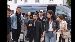Cristiano Ronaldo's New Girlfriend Georgina Rodriguez Flaunts Her Pert Derrière   YouTube