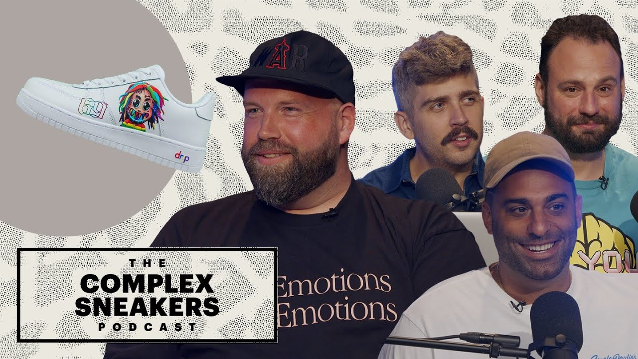 Why Is Nike Suing Sneaker Customizers? Mache Responds   The Complex Sneakers Podcast