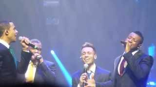 JLS end of the road Greatest hits Goodbye Belfast odyssey 1/12/13