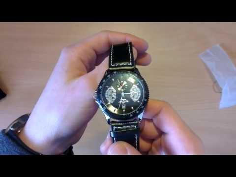 Self-Winding Mechanical Wrist Watch - Unboxing