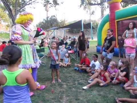 Children's Birthday Party Entertainment Orange County | Kids Party Clown Entertainment Riverside