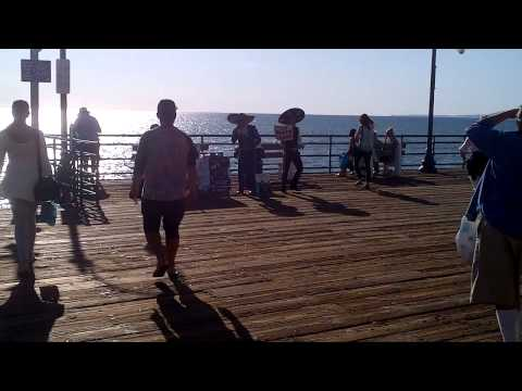 Music on Santa Monica Pier