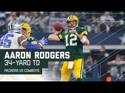 Aaron Rodgers Tosses 34-Yard TD on Opening Drive | Packers vs. Cowboys | NFL Divisional Highlights