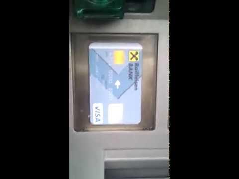Tërheqja e parave me kartelë Payoneer në bankomatin e Raiffeisen Bank