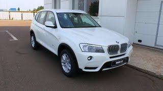 2012 BMW X3. Start Up, Engine, and In Depth Tour.