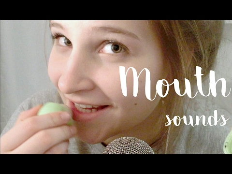 Intense Mouth Sounds ASMR || ear eating, kissing, chewing, whispering, playing with tongue