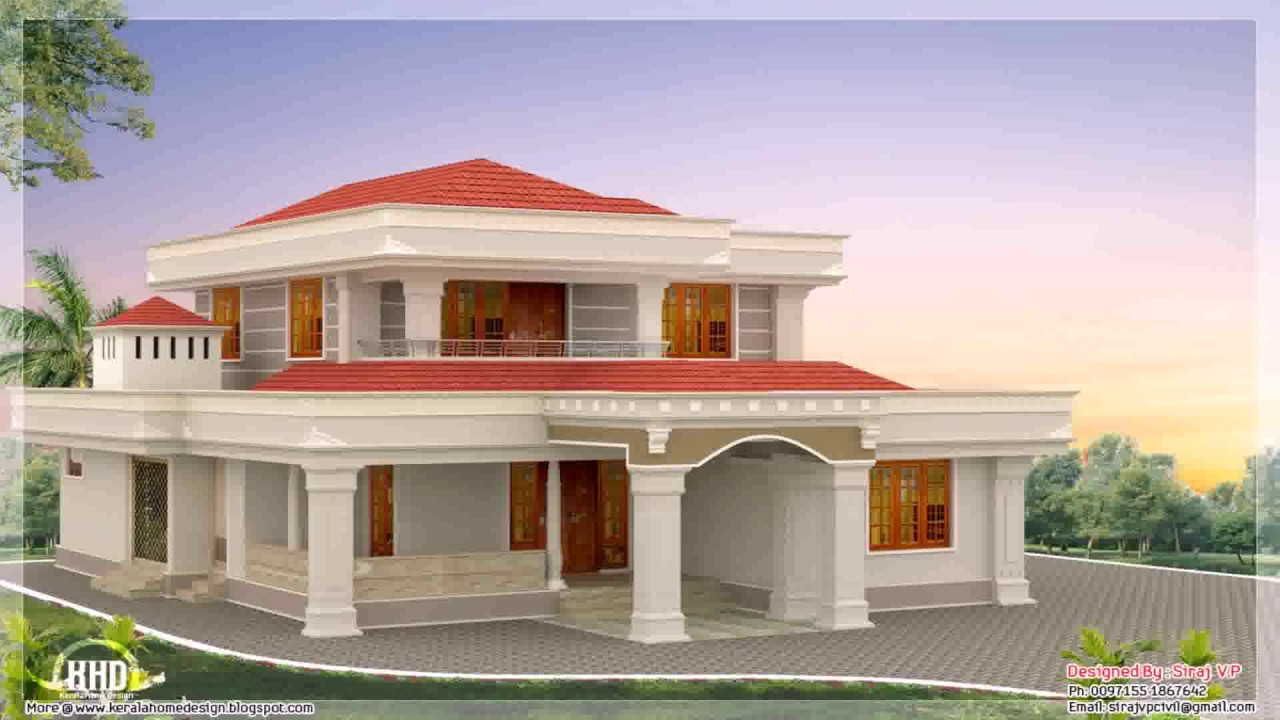 Lovely House Designs 1800 Sq Ft India   YouTube