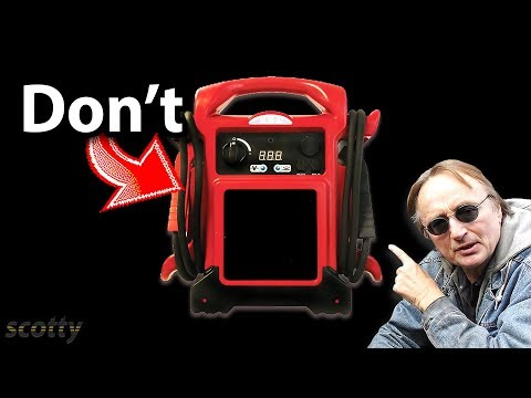 Never Use This Jump Starter on Your Car