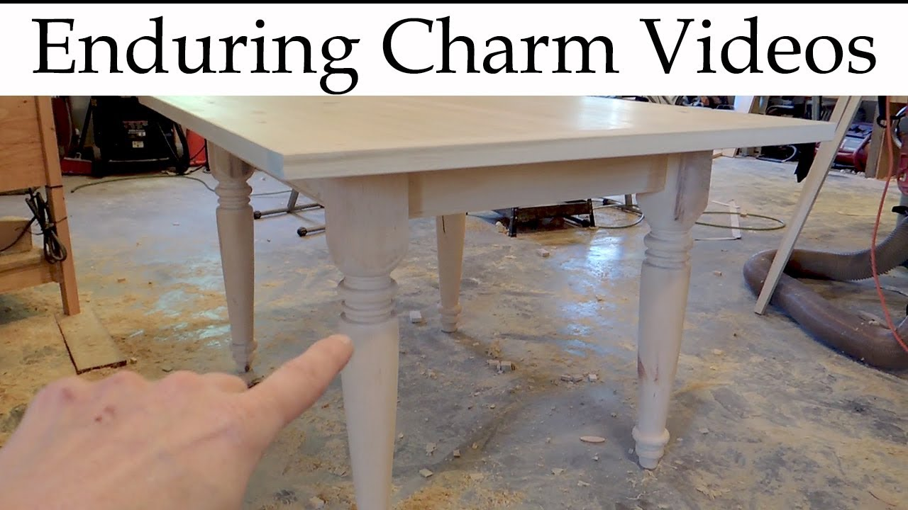 Make A Farm Table Start To Finish YouTube - How to make a farm table