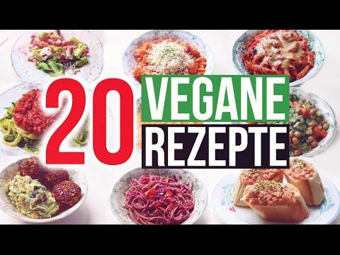 20 VEGANE REZEPTE | Was Veganer essen | schnell & einfach