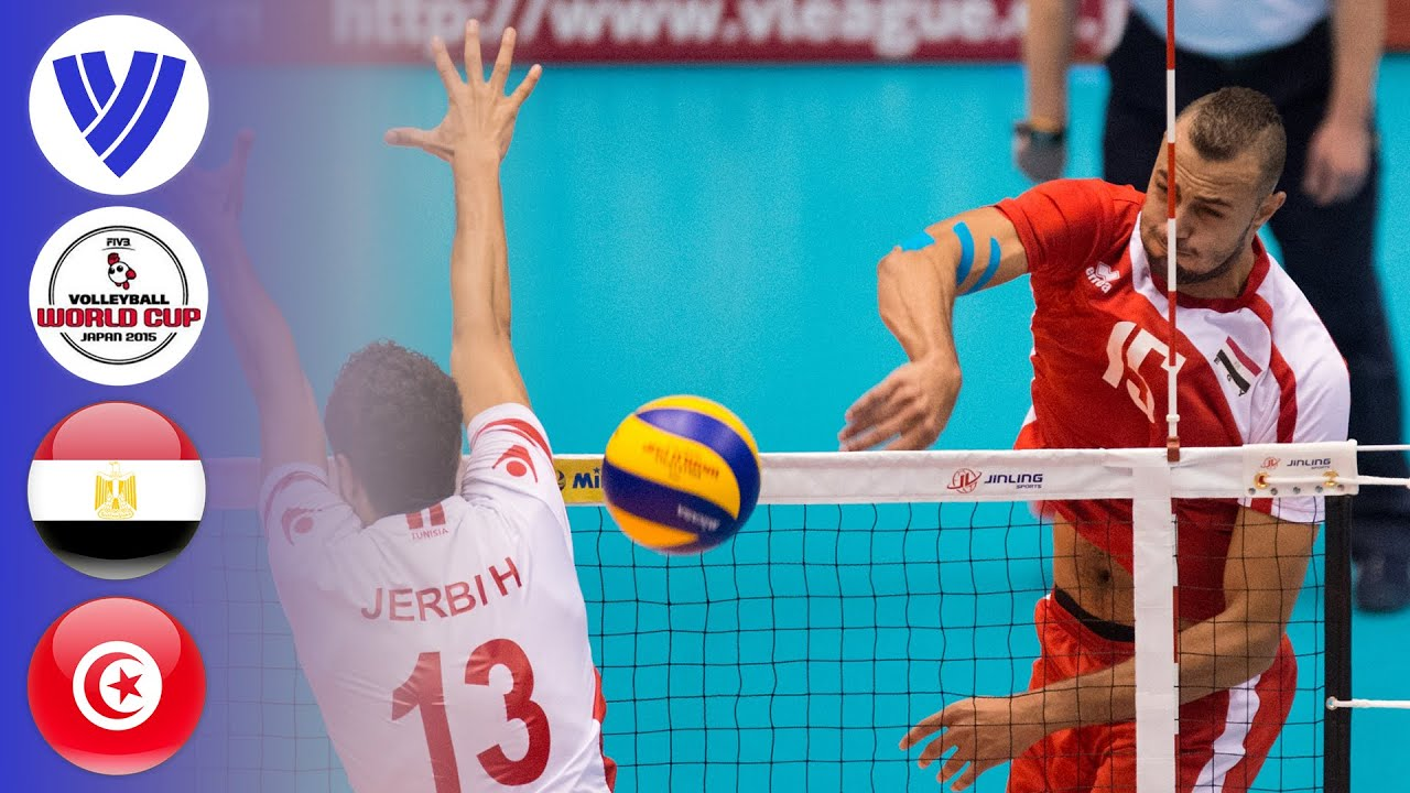 Egypt vs. Tunisia - Full Match | Men's Volleyball World Cup 2015
