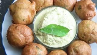 Mysore Vada Recipe in Hindi   Mysore Bonda   Snacks   मैसूर वडा   South Indian Food