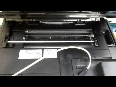 ส่งงานครูเท่   brother dcp-j140w  เปลี่ยนหัวพิมพ์และน้ำหมึก