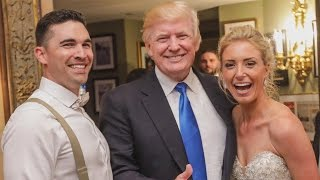 President Donald Trump Makes Surprise Appearance At Couple's Wedding