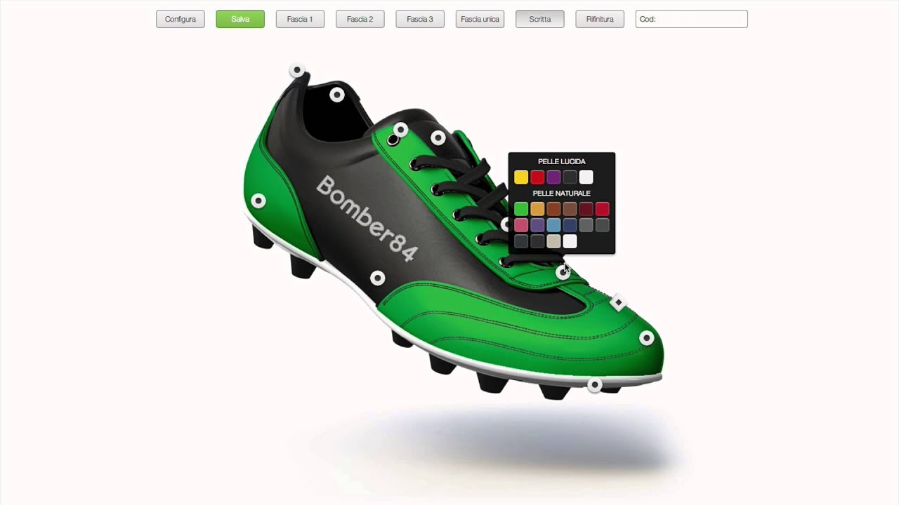 scarpe nike calcio bambino personalizzate